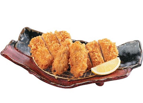 牡蠣ふらいととんかつ膳