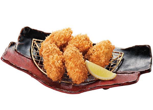 牡蠣ふらい膳】